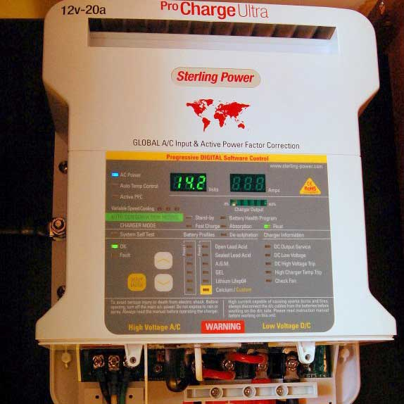 Installing a Marine Battery Charger