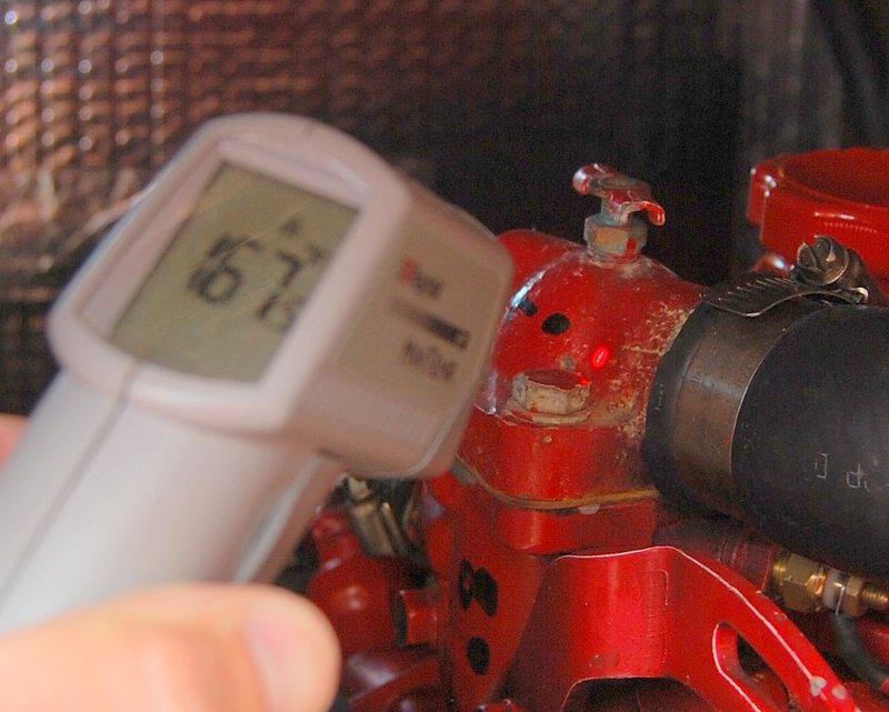 Engine Temp Monitoring And Overheating Assessment – Marine