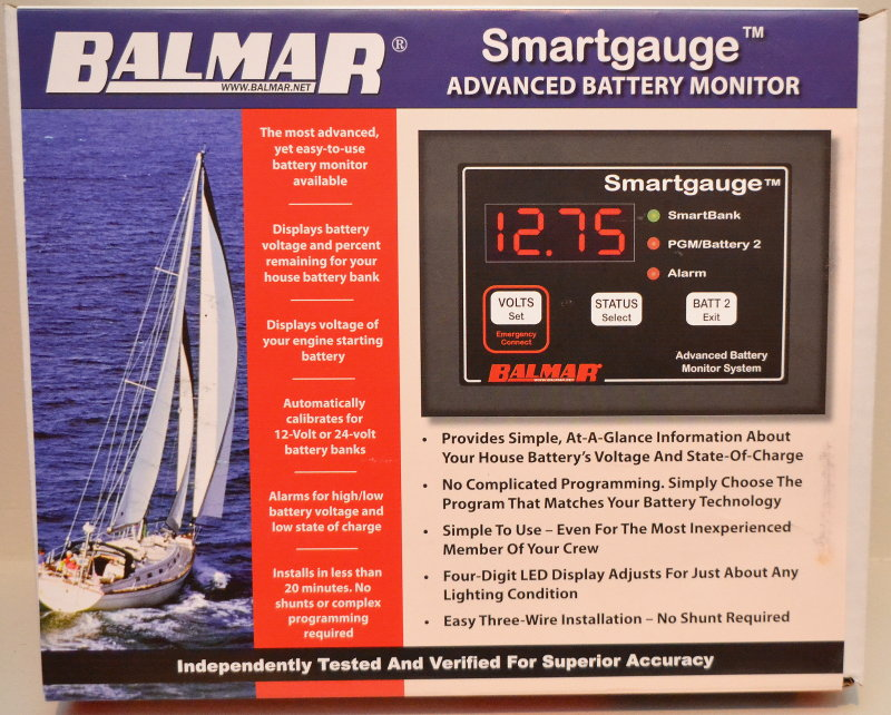 Balmar Smartgauge Battery Monitoring Unit – Marine How To