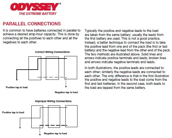 what is a deep cycle battery trojan parallel takes offs