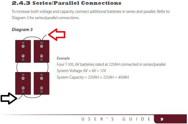 Wiring Batteries Series Parallel