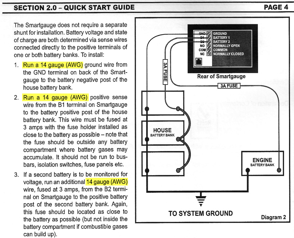 Smart gauge battery monitoring unit marine how to wire gauge confusion keyboard keysfo Gallery