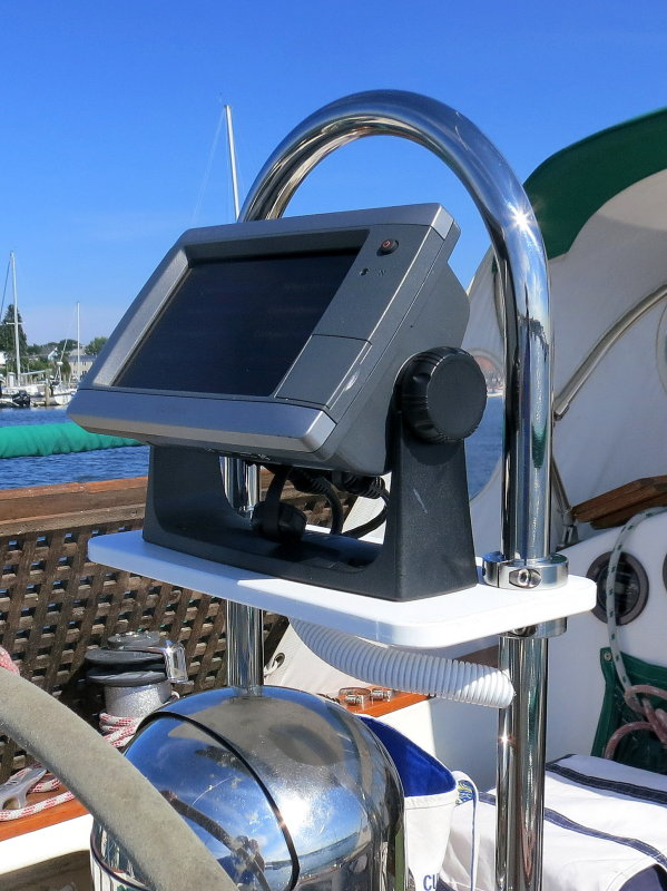 Chart Plotter Mount For Edson Pedestals – Marine How To on