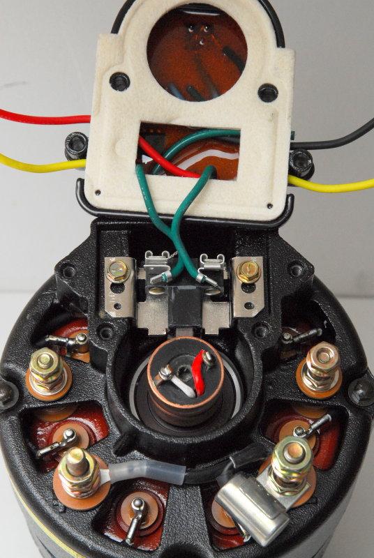 External Regulation Conversion Leece Neville 8mr Alternator Marine How To