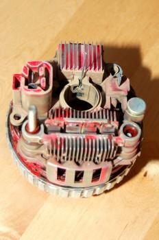 09 Rebuilding a Westerbeke Alternator
