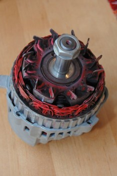 12 Rebuilding a Westerbeke Alternator