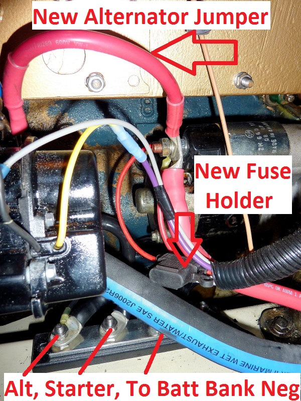Universal Diesel Engine - Wiring Harness Upgrade - Marine How ToMarineHowTo.com