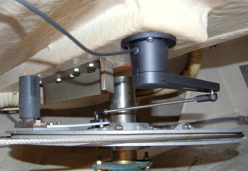 Installing an Autopilot Rudder Position Sensor – Marine How To