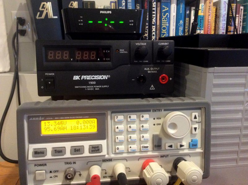 Under-Load Battery Voltage vs. SoC - Marine How To