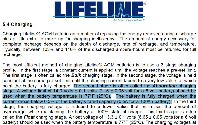 How Fast Can An Agm Battery Be Charged Marine How To