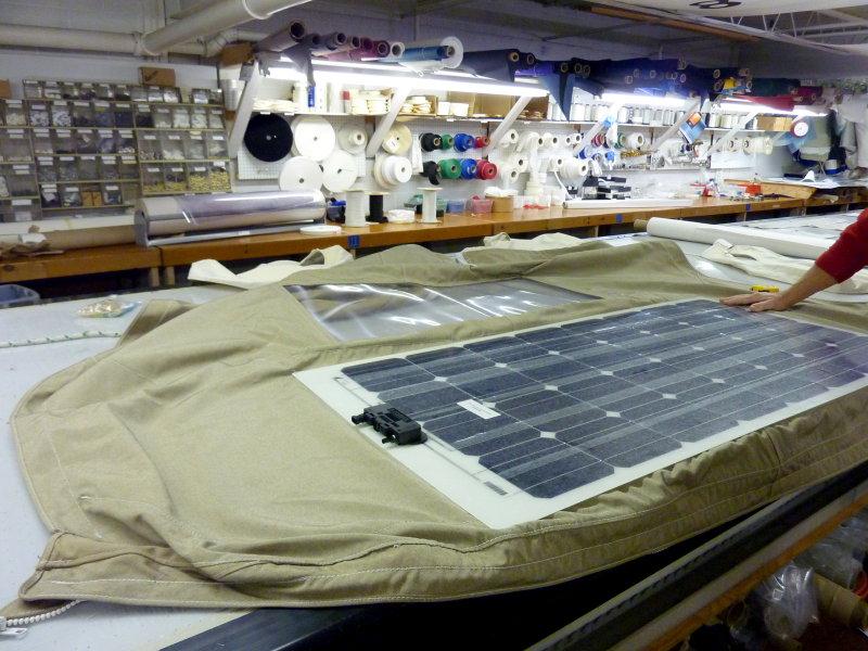 Installing A Solbian Semi Flexible Solar Panel Marine How To