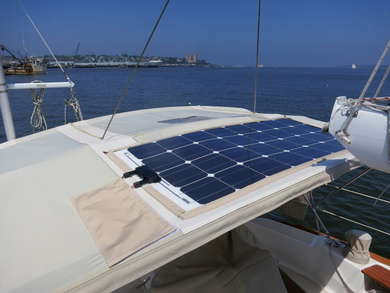 installing a solbian semi flexible solar panel \u2013 marine how to Solar Array Wiring